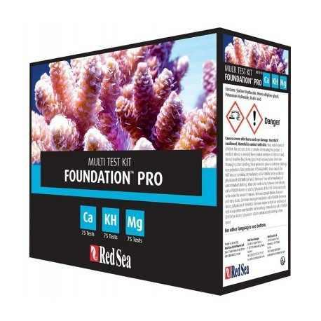 Test red sea agua salada reef foundation ca mg kh 75 test