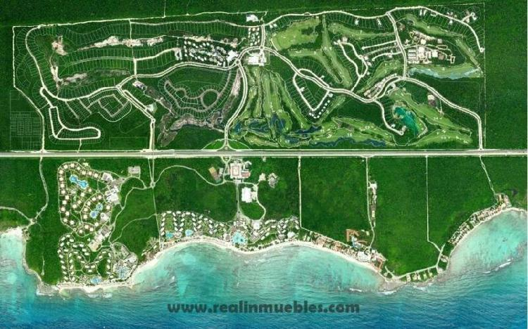Vendo terreno condominal bahia principe riviera maya,