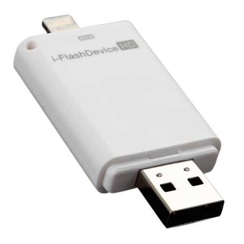 Iflash device hd memoria externa para ipad y iphone 32 gb