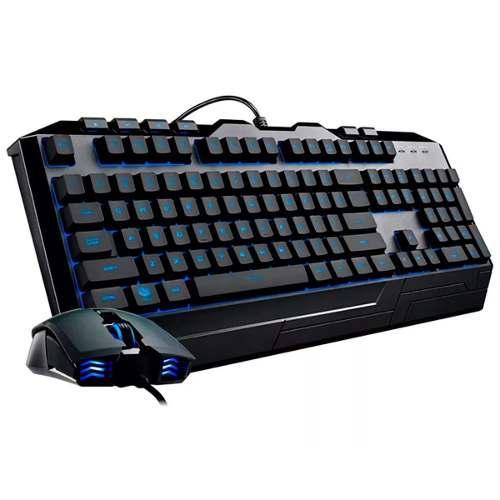Kit teclado y mouse gamer cooler master devastator 3 rgb