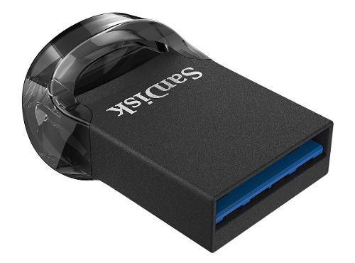 Memoria sandisk 128gb usb 3.1 ultra fit z430 negro mini 130m