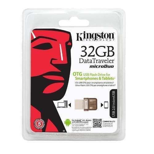 Memoria usb 32gb kingston dt micro duo micro usb android