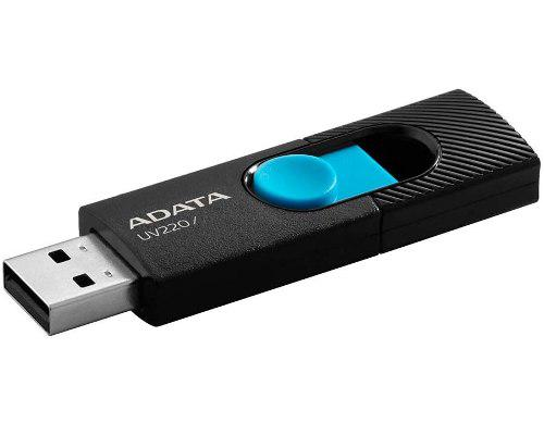 Memoria usb 64gb adata uv220 2.0 retractil flash drive nueva