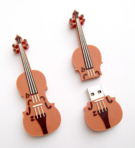 Memoria usb violonchelo violin guitarra 8gb incluye envio