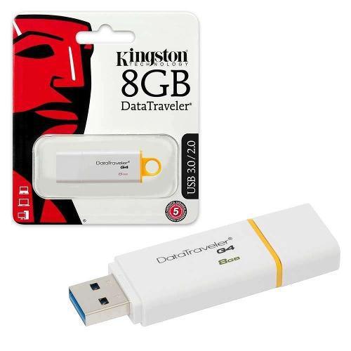 Memorias usb kingston 8gb g4 original laptop usb 3.0 2.0