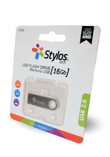 Stylos memoria usb 2.0 mayoreo 16gb metalica original nueva