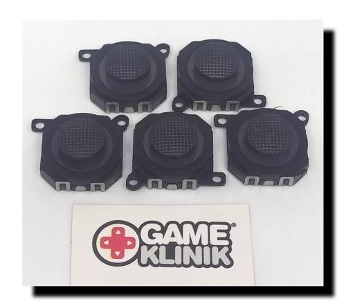 5 x joystick análogo para psp 1000 fat nuevo con tapa
