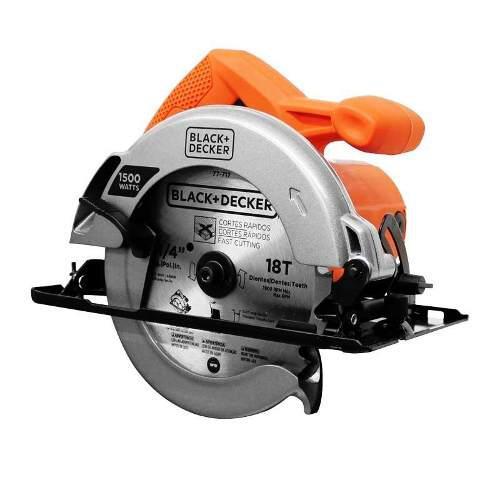 Black & decker cs1024-b3 sierra circular, 1500w.,
