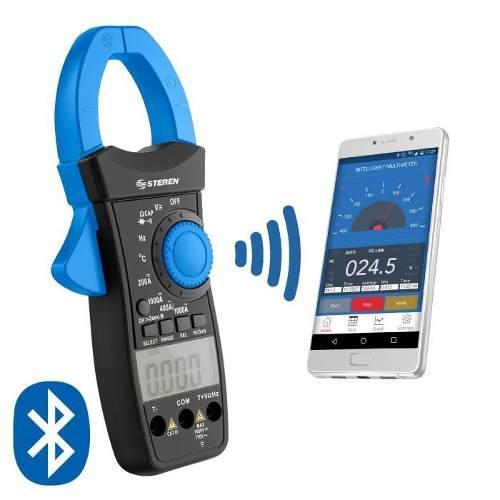 Multímetro de gancho profesional bluetooth rms iphone