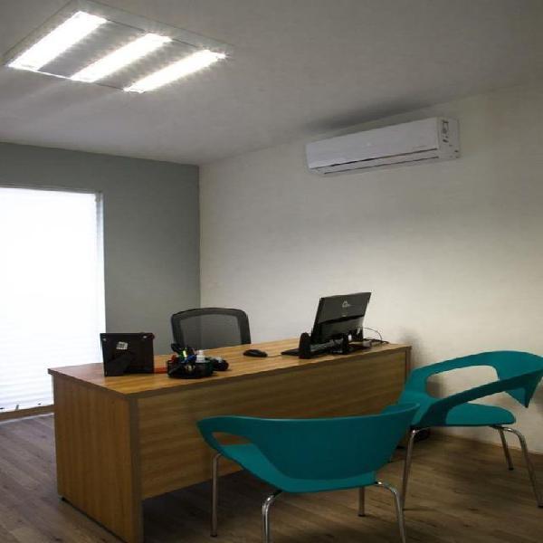 Oficina en renta con todos los servicios incluidos zona