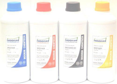 1 litro tinta marca moorim tipo dye compatible con brother