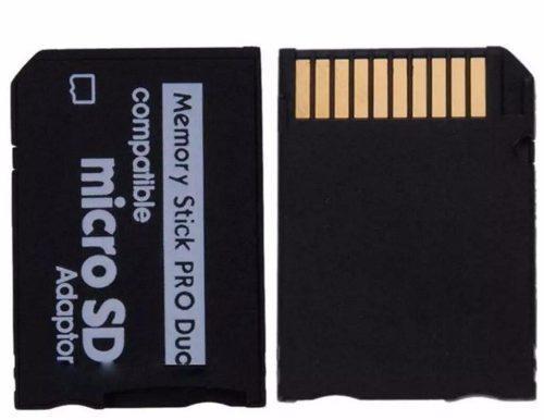 Adaptador produo con micro sd 32gb cl10 envio incluido