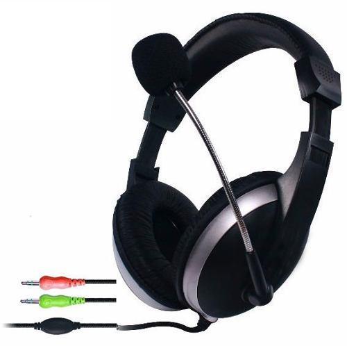 Audifono diadema con micrófono y control volumen pc laptop