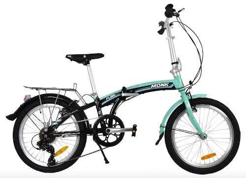 Bicicleta flink plegable/alum rodada-20 7-velocidades