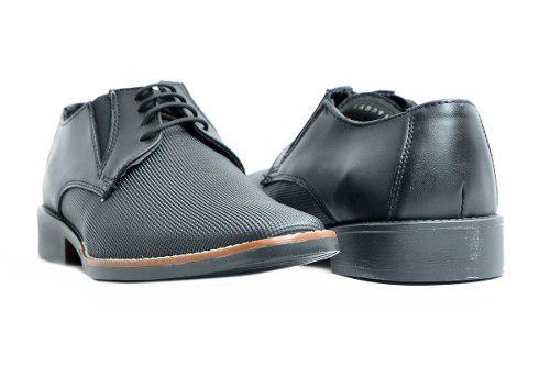 Calzado zapato negro casual vestir salir | erez
