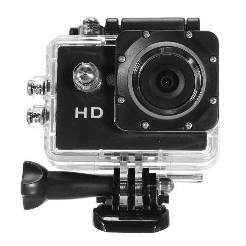 Camara deportiva sumergible 30m 5mpx 720p hd real exp 32gb