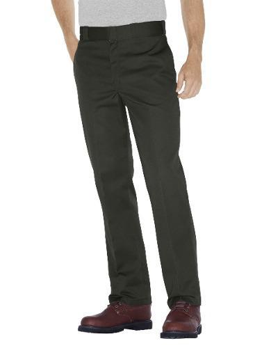 Dickies 874 pantalón gabardina trabajo uso rudo resistente