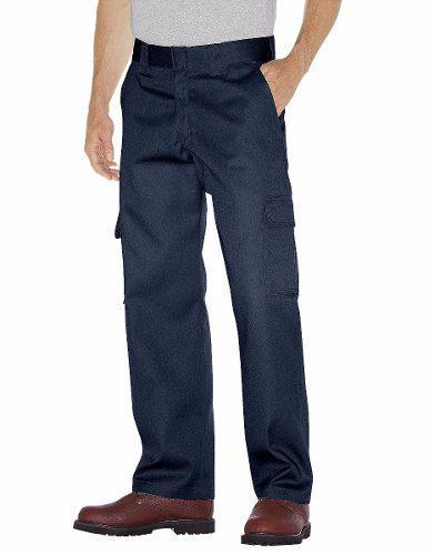 Dickies wp592 pantalón tipo cargo de trabajo para uso rudo