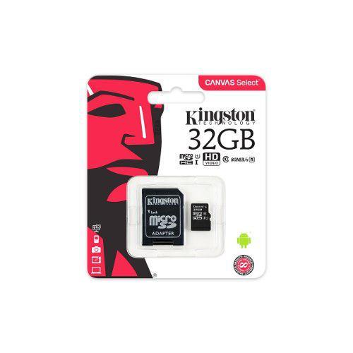 Kingston memoria micro sd 32gb clase 10 original 80mb +