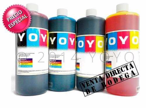 Litro de tinta universal hp, canon, eps lexmark marca yoyo