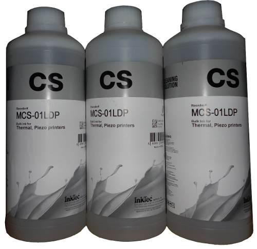 Litro liquido destapacabezal marca inktec original facturado