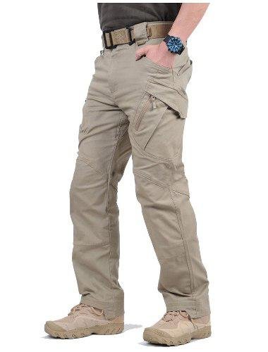Pantalón táctico militar tipo cargo policia seguridad