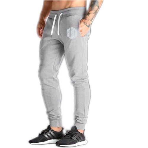 Pants jogger slimfit gym entrenar moda hombre entubado moda