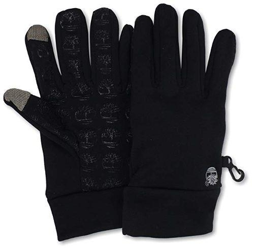 Timberland men's commuter glove stretch tree logo palm with