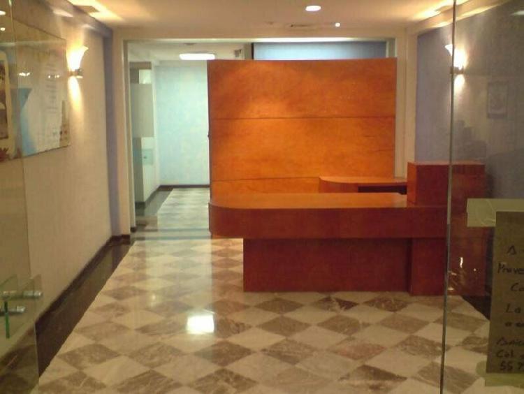 Oficina corporativa en renta 306 m2 polanco /