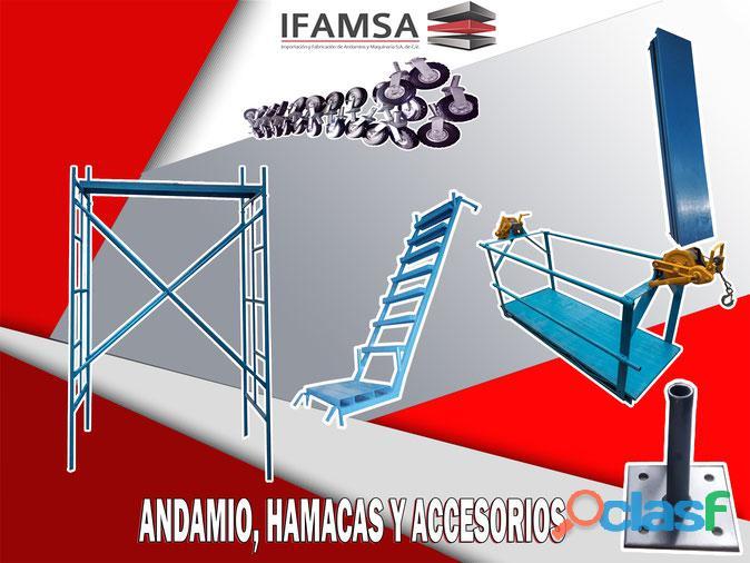 Venta, renta y fabricación de andamios