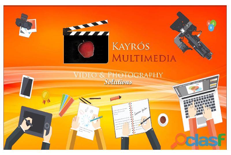 Video y fotografía profesional para empresas