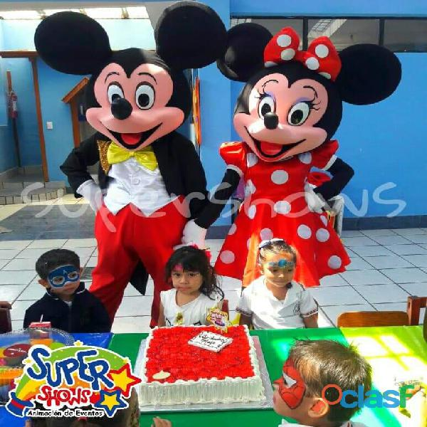 Show de mickey mouse, show de minnie mouse