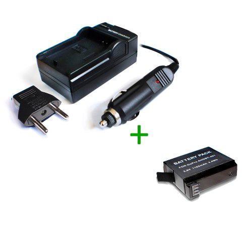 Cargador + 1 Bateria Ahdbt-401 Compatible Gopro Hero4