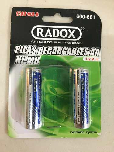 Cargador batería aa recargables 660-681