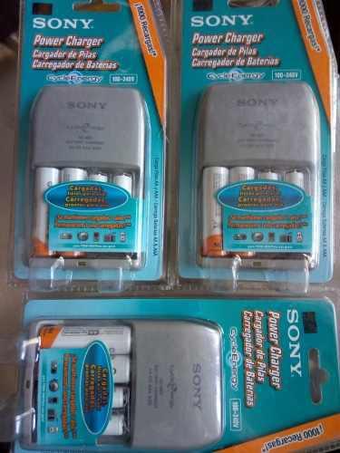 Cargador de baterias sony