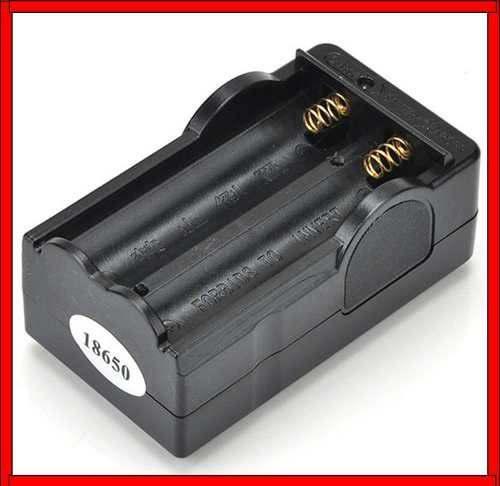 Cargador de pila bateria 18650 de pared doble