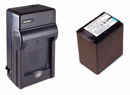 Kit cargador + 1 bateria np-fv100 para video camara sony