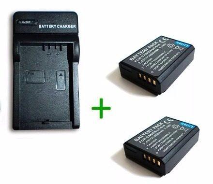 Kit cargador + 2 baterias lp-e10 pa canon eos rebel t3 t5 t6