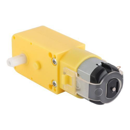 Motor reductor de doble eje recto, 3 vcc | mot-120