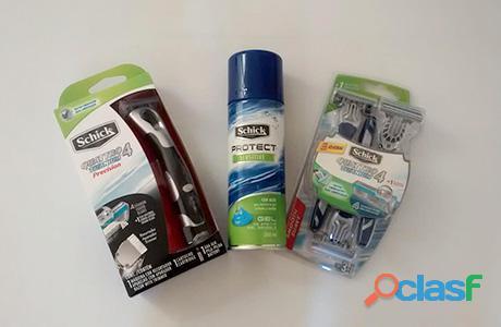 Urge personal para empacar cremas de afeitar