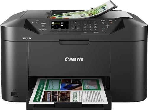 Canon maxify mb2110 con cartuchos rellenables y factura.