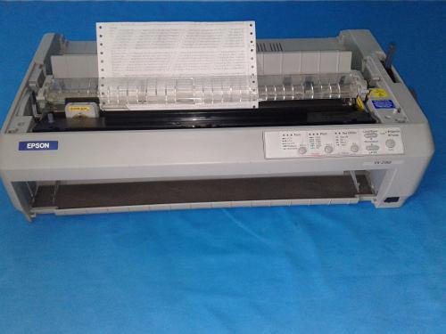Epson fx-2190 impresora de matriz cabeza 9 agujas c/ cinta
