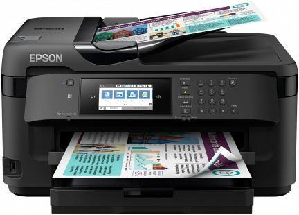 Epson wf-7710 tabloide a3 y sistema o cartuchos recargables