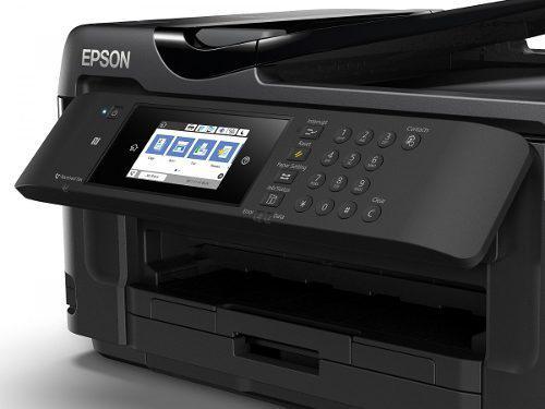 Epson Workforce Wf-7710-tabloide Con Sistema De Tinta