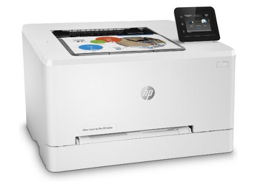 Impresora color hp laserjet pro m254dw duplex wifi lan 21ppm