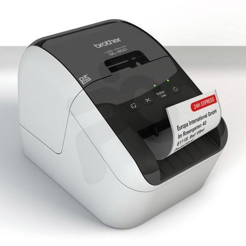 Impresora de etiquetas térmica brother ql-800 usb rojo