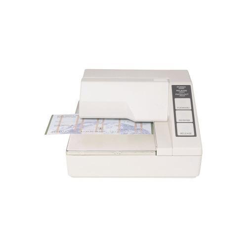 Impresora epson tm-u295-272 matriz serial sin fuente blanco