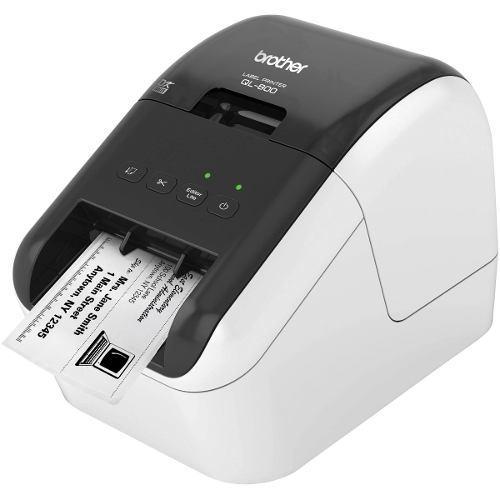 Impresora etiquetas brother ql-800 código barras 12-62mm