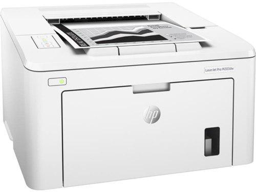 Impresora hp laserjet pro m203dw bco y neg laser inalambrica