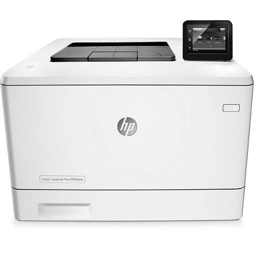 Impresora hp laserjet pro m452dw 28ppm color wifi duplex cf3
